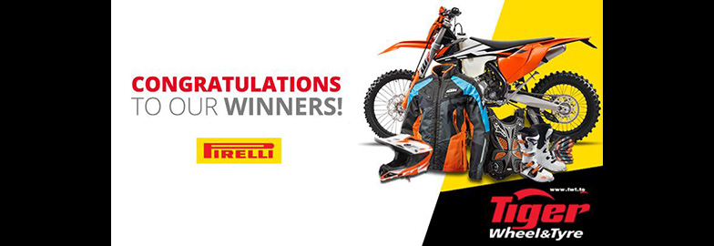 Tiger Wheel & Tyre Customers Sweep High-Value Prizes in Pirelli Scorpion KTM Promotion
