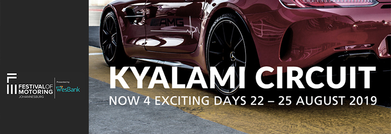 Festival of Motoring is a four-day extravaganza!
