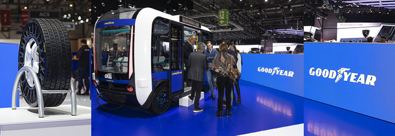 Goodyear, Local Motors Join Forces on Autonomous Shuttles