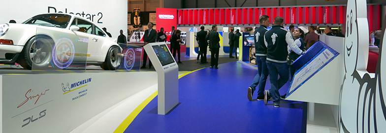 Michelin return to Geneva Motor Show