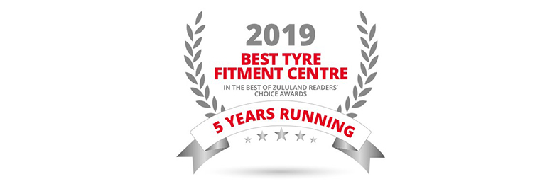 "Zululand Motorists Vote Tiger Wheel & Tyre ""Best Tyre Fitment Centre"""