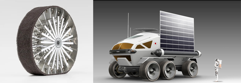 Japanese moon mission to roll on Bridgestone rubber