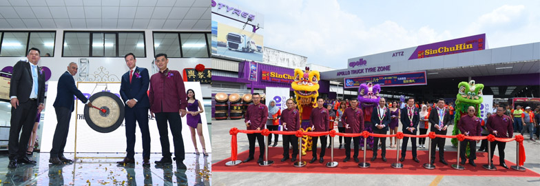 Apollo opens its first tyre service centre in Malaysia