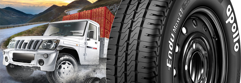 Apollo Tyres introduces EnduMaxx brand of light truck tyres for the Indian market