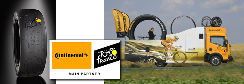 Continental is Main Partner of Tour de France 2019
