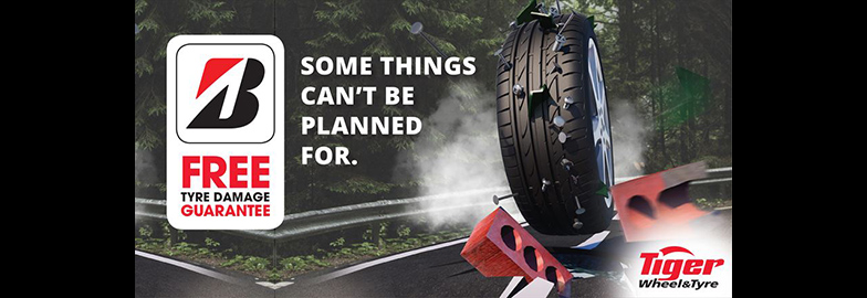 Bridgestone Tyre Guarantee Now Available at Tiger Wheel & Tyre