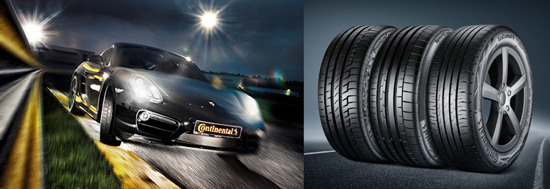 Continental tyres highly successful in Original Equipment market