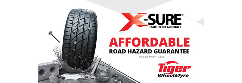 Tiger Wheel & Tyre reinvents X-Sure Road Hazard Guarantee