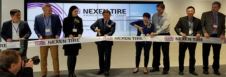 Nexen Tire Hosts Tech Center Grand Opening, Showcases R&D & Commitment to North America