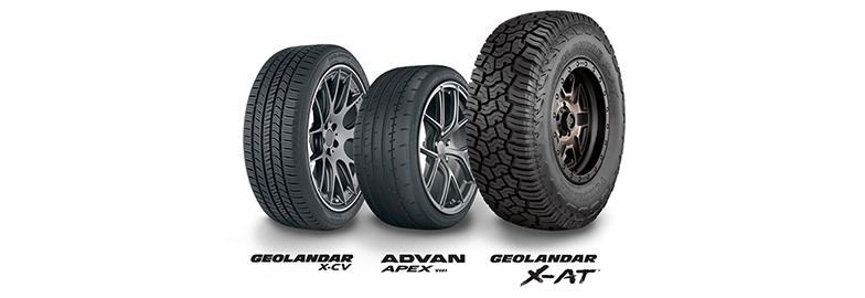 Yokohama Sweeps SEMA New Product Awards Tire Category