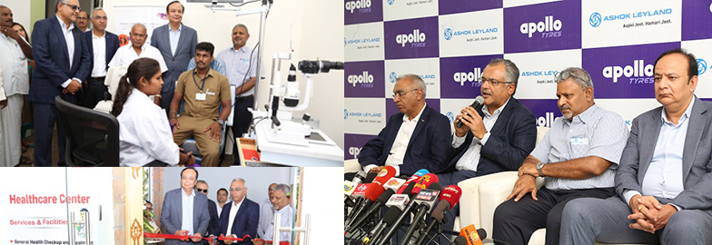 Apollo Tyres and Ashok Leyland collaborate for driver health initiatives